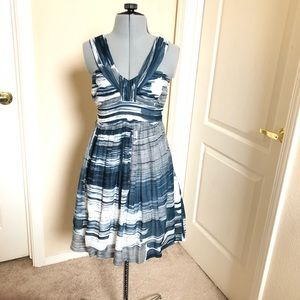 Anthropologie Sine watercolor dress
